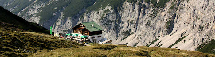 Berghütte in the Austrian Alps