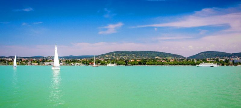 Lake Balaton in Hungary