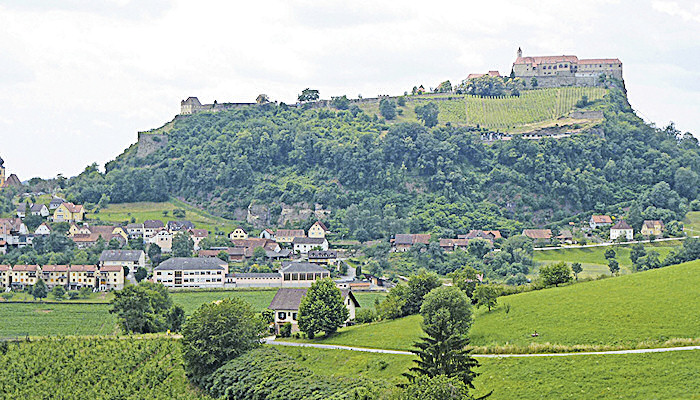 Riegersburg in the Steiermark