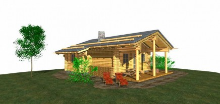 Traditional log cabins for sale in the northern Steiermark
